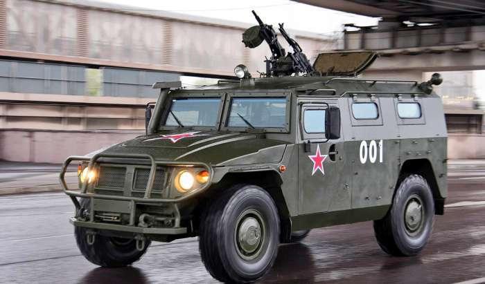 Кращі сучасні бронеавтомобілі російської армії (4 фото)