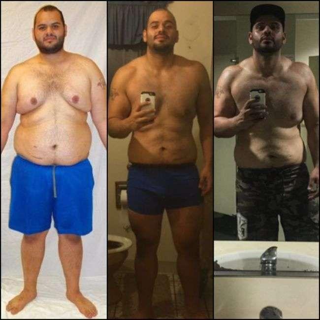 Люди, які перемогли в боротьбі із зайвою вагою (18 фото)
