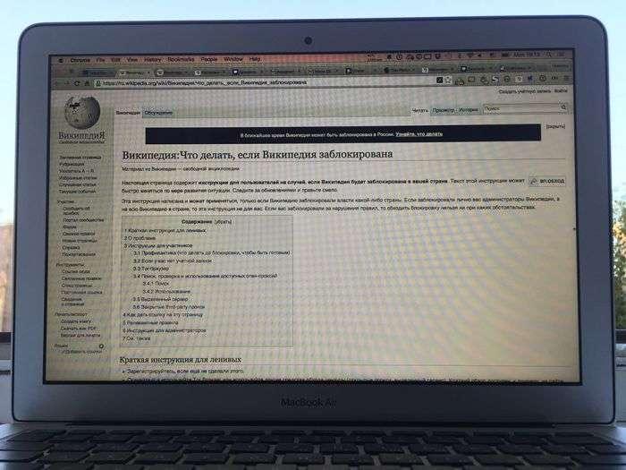 Найближчим часом «Вікіпедія» виявиться повністю заблокованою в Росії (3 фото)