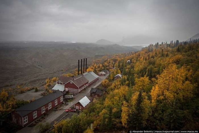 Покинутий робочий селище на Алясці (32 фото)