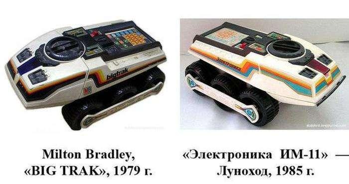 Зарубіжні прототипи продукції СРСР (22 фото)