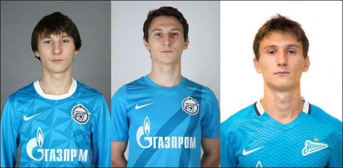 Гравці молодіжної команди «Зеніт» і «Зеніт»-2 в 2011 році і зараз (23 фото)