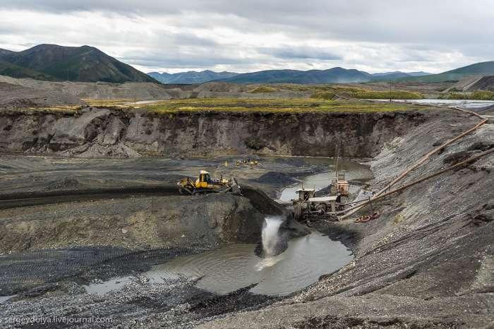 Способи видобутку золота на Колимі (36 фото)