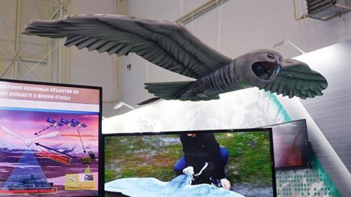 Российский дрон-сова и еще несколько странных БПЛА для «подглядывания» за окружающими роботы,технологии