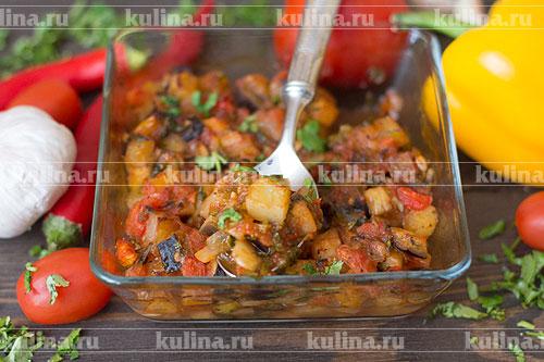 Чанфотта - овощное рагу по-сицилийски итальянская кухня,кулинария,овощные блюда,чанфотта