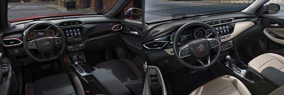 Близнецы Chevrolet Trailblazer и Buick Encore GX придут в США Авто и мото