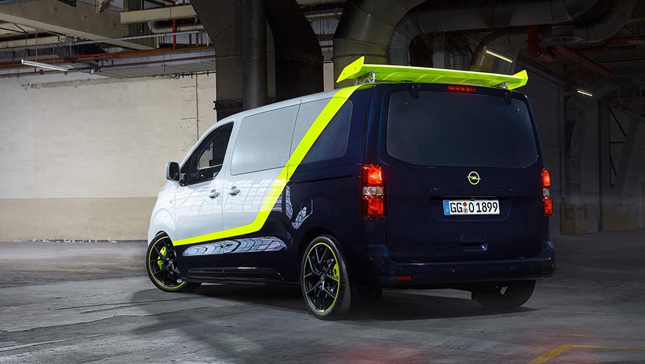 Немцы вспомнили боевик с концептом O-Team Zafira Life Авто и мото