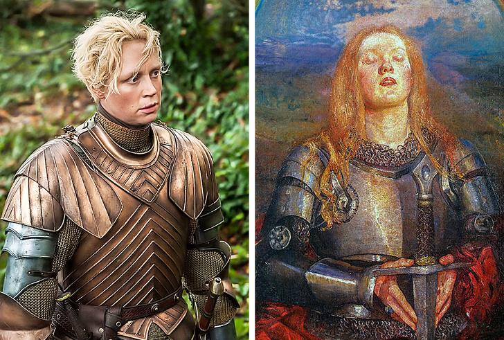 12 реальных людей, которые стали прототипами персонажей «Игры престолов» Интересное
