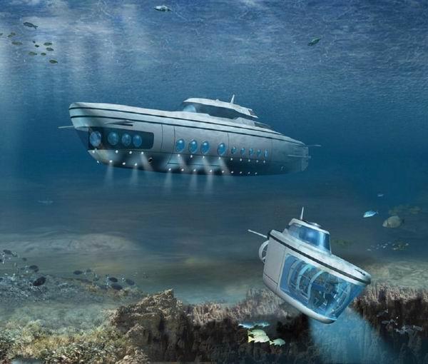 10 самых эксклюзивных частных подводных лодок Интересное