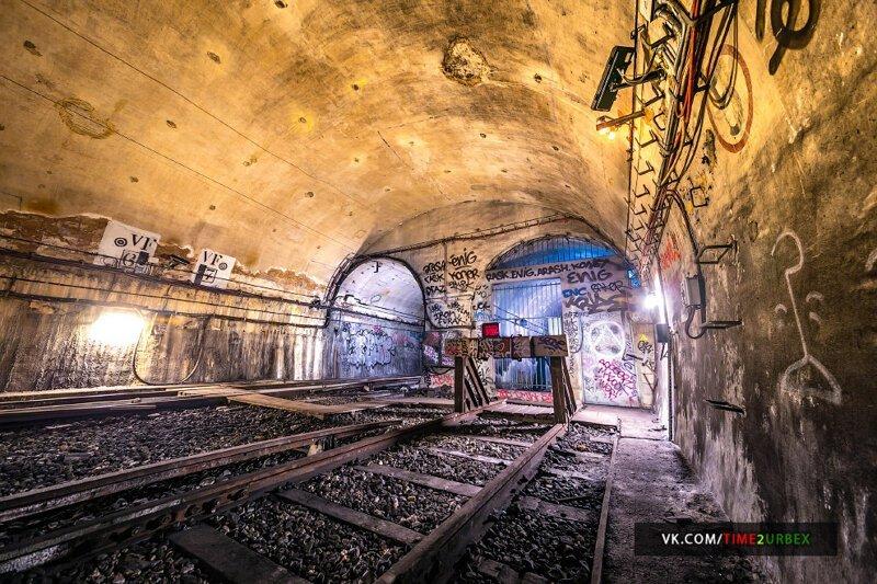 7 станций — призраков Парижского метро Интересное
