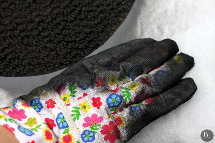 Эффектные коврики для очень смелых и очень настойчивых! домашний очаг,ковер,мастерство,рукоделие,своими руками,умелые руки