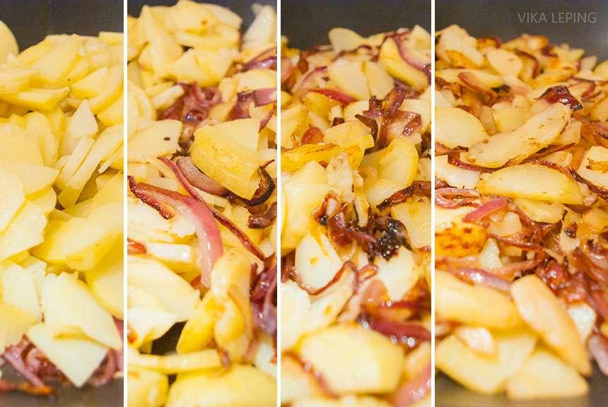 Испанская Тортилья или омлет с картофелем: рецепт классический дом,испанская тортилья,испанский омлет с картофелем,кулинария,рецепты