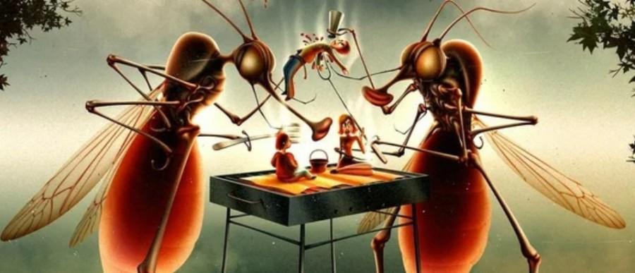 Секретный способ защиты от комаров без всяких репеллентов не всё так грустно,самоделкин