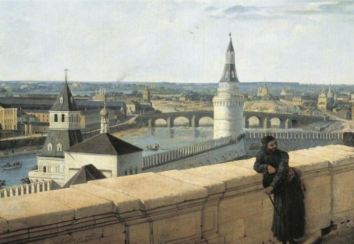 20 гравюр, на которых изображена Москва, какой она была 200 лет назад до большого пожара